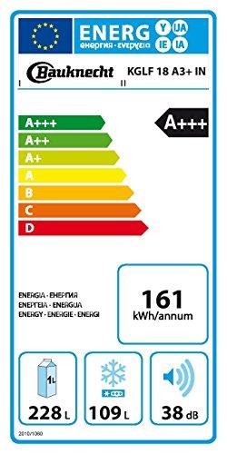 Kühl-Gefrier-Kombination Bauknecht KGLF 18