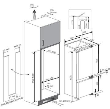 Beko CBI 7771 Einbaukühlschrank günstig