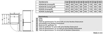 Bosch KGN39XI42